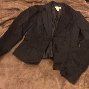 Peplum style blazer